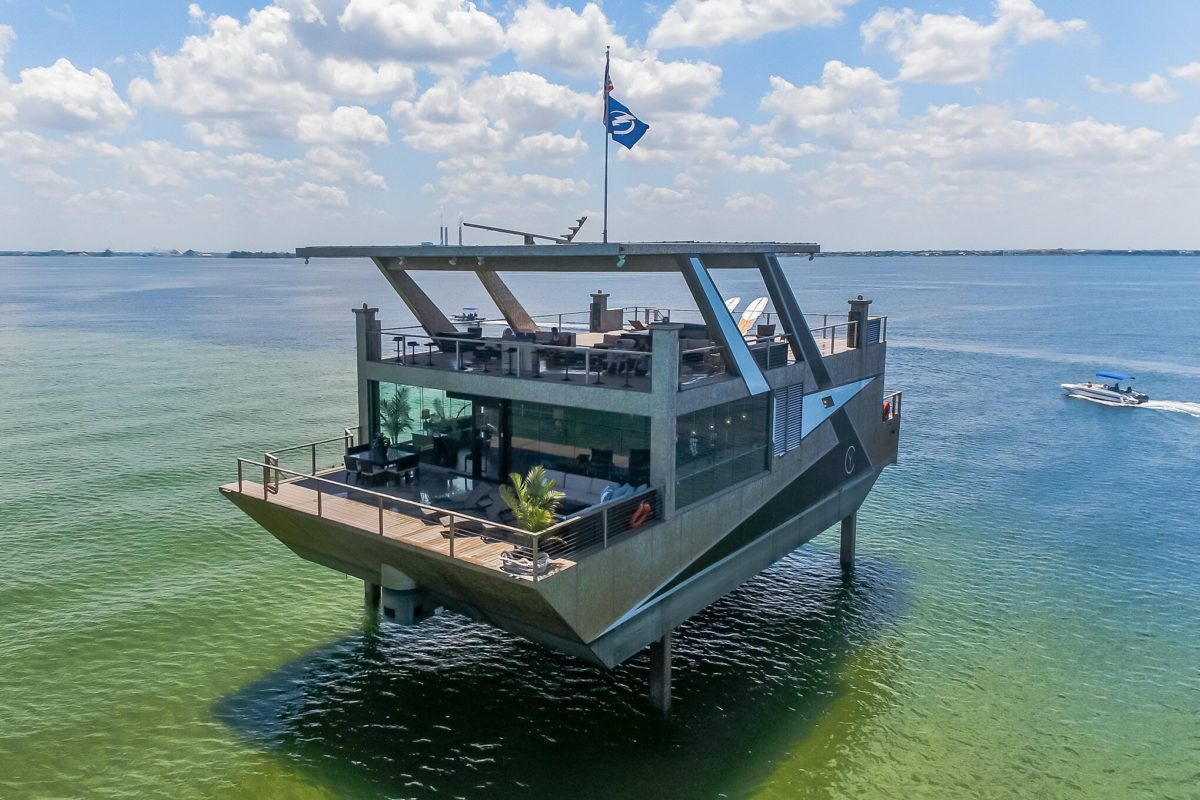 One Of A Kind $12 Million Floating Mansion