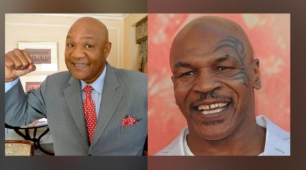 "George Foreman: ""Mike Tyson who was a ""monster"" in the ring"""