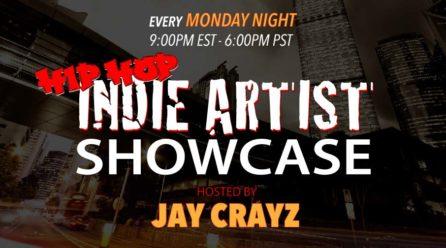 Indie Artist Showcase Monday 9:00pm