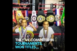 Twins' boxing video has social media convinced that they'll be 'world champions' one day